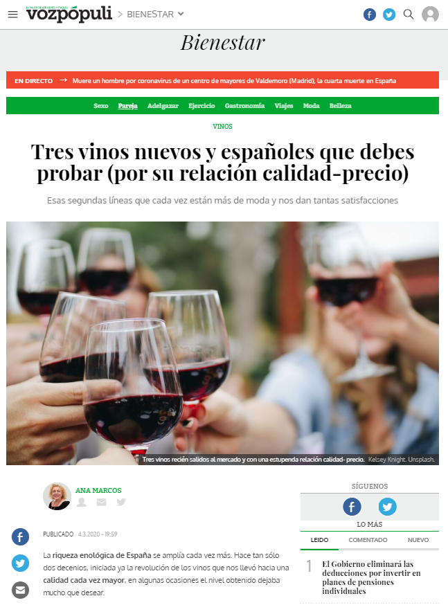 Tesalia en Diario Sur